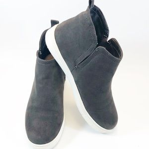 Jore Shoes - Jore Taupe/Gray Bootie Sneakers
